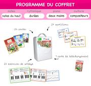 Coffret de musique N°3 Programme et Contenu