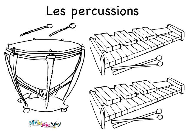 Activité les percussions