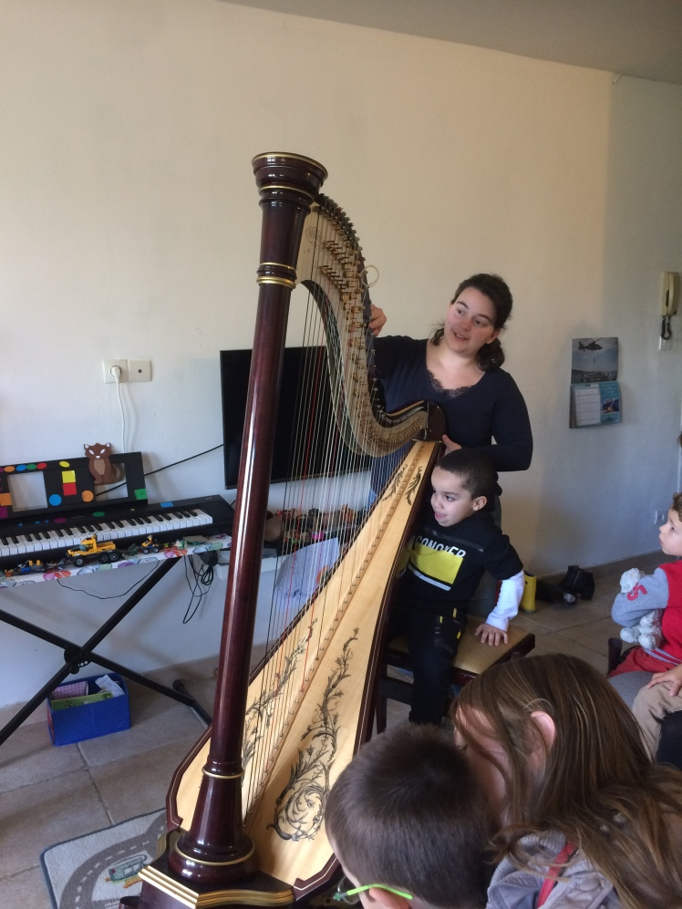Presentation de La Harpe Aurore Lapasset Hafid Mathys RODIAC